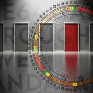 The 64 Gates Through Rave Mandala