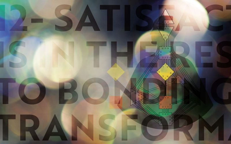 12 Satisfaction is in the Response to Bonding and Transformation