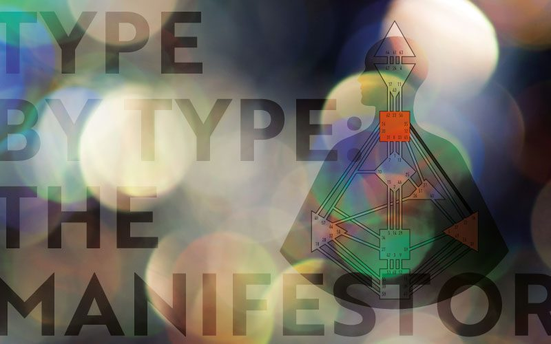 Type by Type: The Manifestor