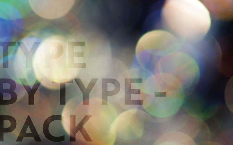 Type by Type - Pack